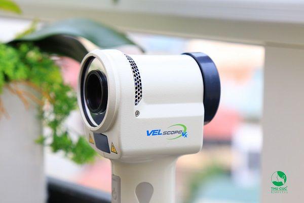Máy soi V-scope giúp phát hiện sự thay đổi bất thường của mô mềm