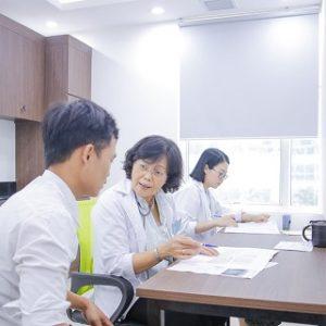 Bệnh viện Thu Cúc khám sức khỏe cho Trung tâm kỹ thuật đường bộ 1