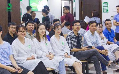 Bệnh viện Thu Cúc khám sức khỏe định kỳ cho công ty Luvina JSC