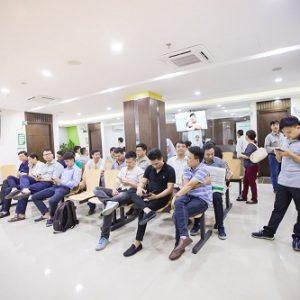 Công ty Vinata khám sức khỏe tại Bệnh viện Thu Cúc