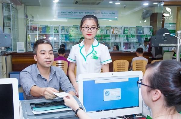 Từ tháng 7/ 2019, Thu Cúc áp dụng chương trình thông tuyến bảo hiểm, BHYT trái tuyến hưởng 100% như đúng tuyến.