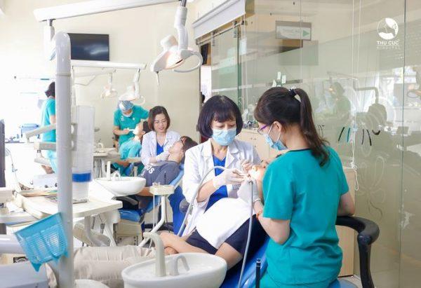 chăm sóc răng tại thu cúc