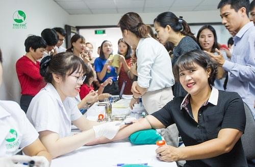 khám sức khỏe định kỳ cho nhân viên tại Thu Cúc