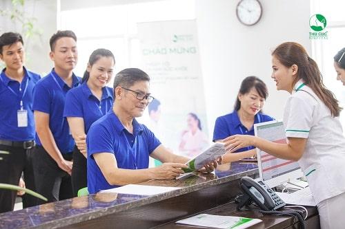 Gói khám sức khỏe định kỳ cho nhân viên tại Bệnh viện ĐKQT Thu Cúc