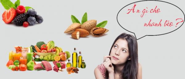 ăn gì cho nhanh béo là nỗi băn khoăn của nhiều người gầy?