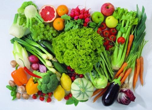 ăn rau xanh góp phần tiêu diệt vi khuẩn HP