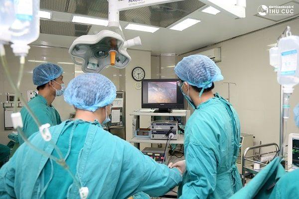 nội soi cắt polyp đại trực tràng cho trẻ em tại Thu Cúc an toàn và hiệu quả