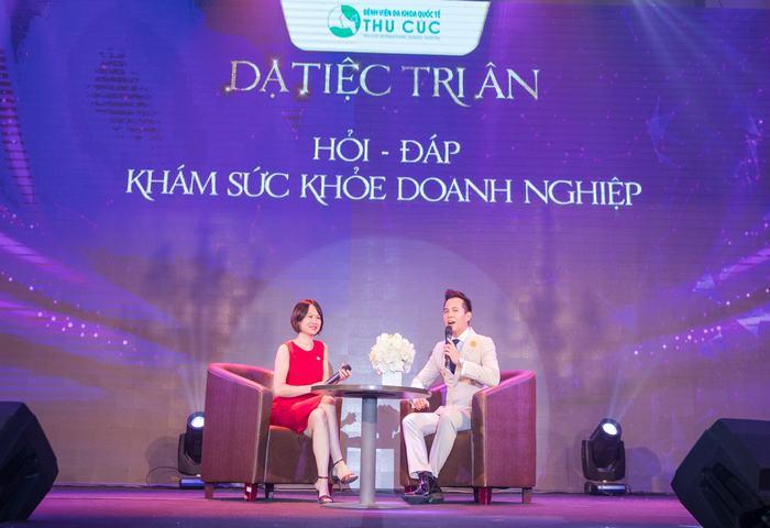 Thạc sĩ, bác sĩ Nguyễn Phương Thảo giải đáp mọi thắc mắc của các doanh nghiệp về khám sức khỏe cho nhân viên