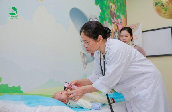 viêm tiểu phế quản ở trẻ nhỏ điều trị hiệu quả tại Thu Cúc