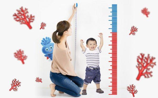 canxi đóng vai trò rất quan trọng trong sự phát triển của trẻ