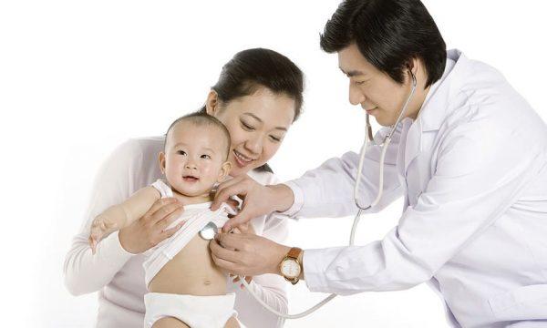 điều trị trẻ sơ sinh bị nấc cụt tại Thu Cúc