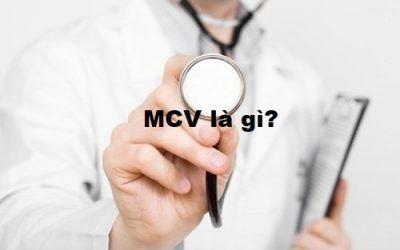 MCV là gì? Chỉ số xét nghiệm máu MCV thấp có nguy hiểm không?