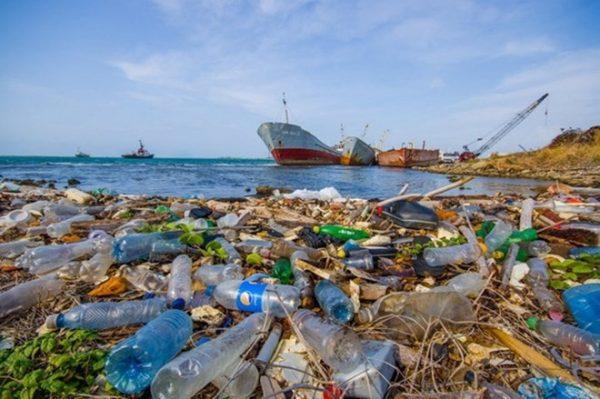 Hình ảnh rác thải nhựa tràn ngập tại ven bờ biển Việt Nam.