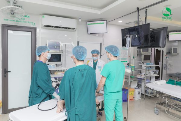 """Nội soi đại tràng NBI 5P """"Không đau - Phát hiện sớm ung thư"""" tại Hệ thống y tế Thu Cúc"""