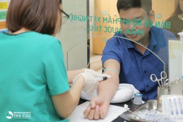 Xét nghiệm máu tại Thu Cúc giúp đánh giá chính xác chỉ số ggt
