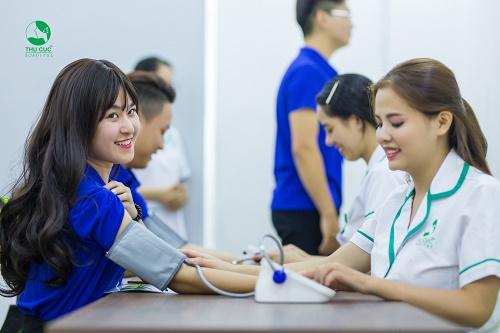 Quy trình khám sức khỏe trọn gói cho công ty tại Thu Cúc