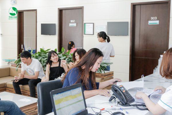 Quy trình khám sức khỏe trọn gói cho công ty tại Thu Cúc gồm những gì?