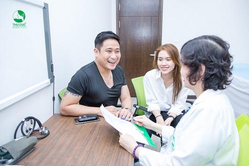 <em>Hệ thống y tế Thu Cúc tự hào là đơn vị cung cấp các gói khám sức khỏe và tầm soát ung thư được hàng ngàn người bệnh và sao Việt lựa chọn</em>