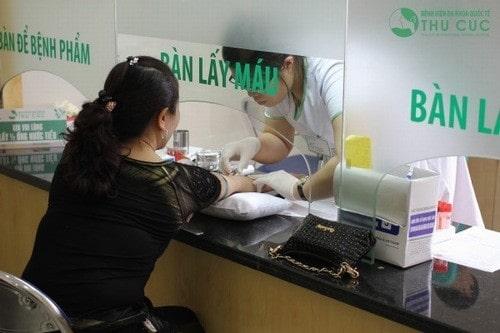 xét nghiệm tiểu đường tại Thu Cúc