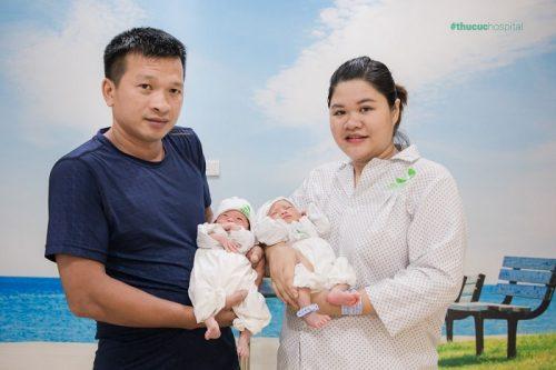 Sinh đôi Nguyễn Thị Hậu