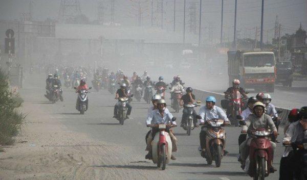 ô nhiễm không khí tại Hà Nội và TP.HCM đang ở mức báo động. (ảnh minh họa)