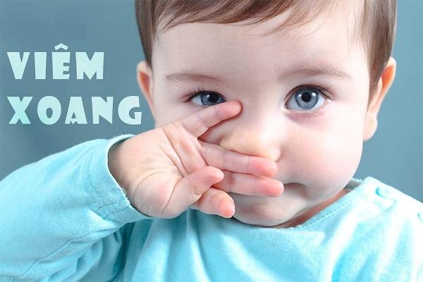Các triệu chứng viêm xoang ở trẻ em