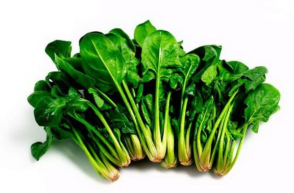 Rau xanh đậm là 1 trong những thực phẩm tốt cho mẹ bầu