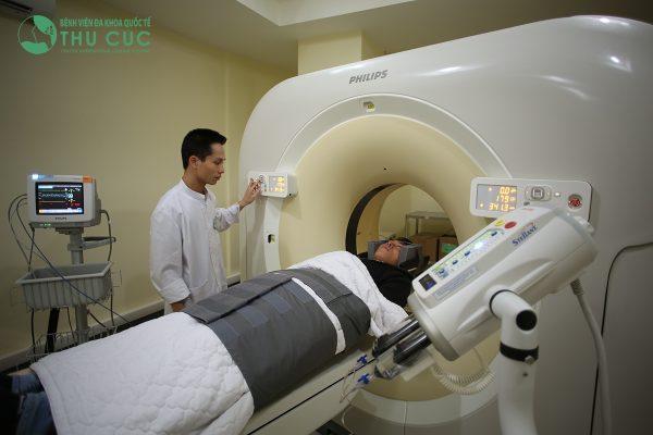 Chuyên khoa Cơ xương khớp tại Thu Cúc được trang bị hệ thống máy móc hiện đại giúp phát hiện các bệnh lý về cơ xương khớp