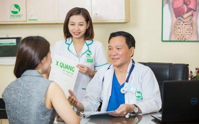 khám bệnh tại hệ thống y tế Thu Cúc