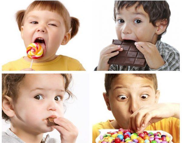sai lầm cho trẻ ăn quá nhiều đường