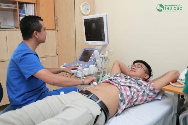 Điều trị đau bụng bên phải