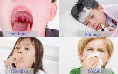 Bé bị viêm họng phải làm sao?