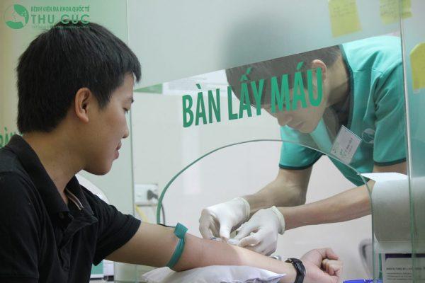 Xét nghiệm tế bào máu ở bệnh viện Thu Cúc