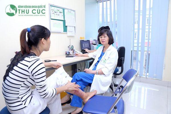 Điều trị bệnh hắc lào tại Thu Cúc