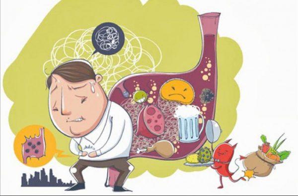 Nguyên nhân rối loạn tiêu hóa vào ngày tết