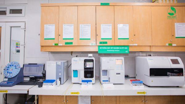 Xét nghiệm thể tích trung bình hồng cầu tại Thu Cúc