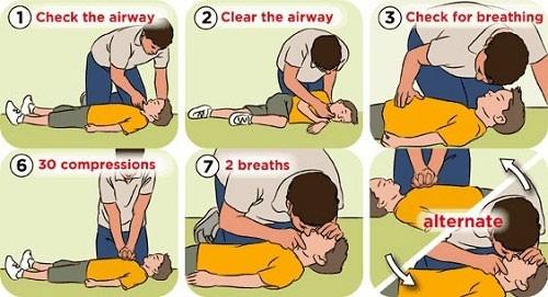 sơ cứu khi trẻ bị ngạt nước đúng cách