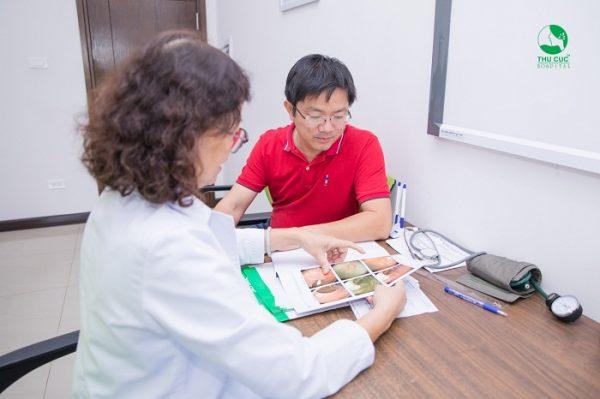 khám sức khoẻ và tầm soát ung thư Thu Cúc
