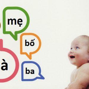 Nhận biết các dấu hiệu trẻ chậm nói