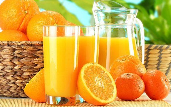 uống nước cam nhiều có tốt không?