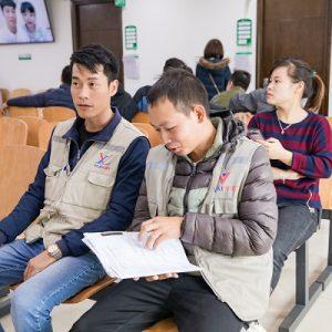 Công ty Vilai Việt tổ chức khám sức khỏe cho nhân viên tại Thu Cúc
