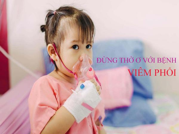 bệnh viêm phổi ở trẻ em