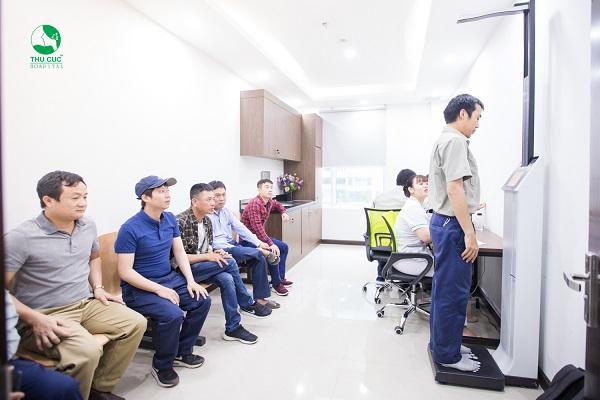công ty Vinata khám sức khỏe
