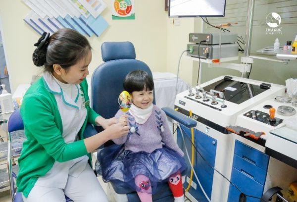 Bệnh viện ĐKQT Thu Cúc được nhiều người bệnh tin tưởng và đánh giá là một trong những phòng khám da liễu cho trẻ uy tín hàng đầu tại Hà Nội.
