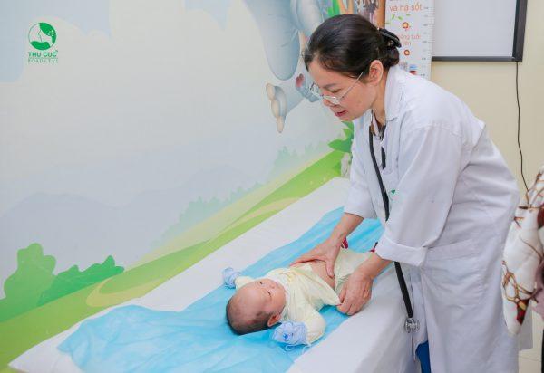 chữa táo bón cho trẻ sơ sinh tại Thu Cúc