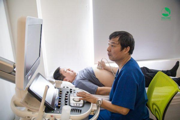 Với thiết bị máy móc hiện đại và tiên tiến tại Bệnh viện ĐKQT Thu Cúc thì sẽ cho hình ảnh siêu âm sẽ vô cùng rõ nét giúp bác sĩ có thể dễ dàng quan sát và chẩn đoán chính xác các bệnh lý nếu có