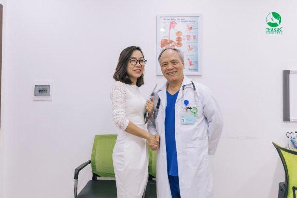 99% người bệnh hài lòng với các dịch vụ thăm khám sức khỏe tại Thu Cúc