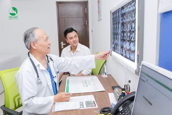 Thu Cúc là lựa chọn thăm khám sức khỏe định kỳ của nhiều nghệ sĩ Việt và hàng triệu người bệnh