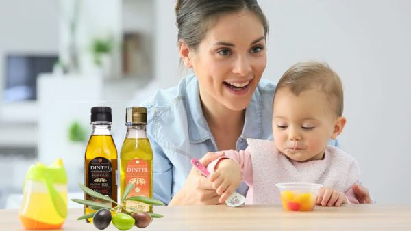 lưu ý cách sử dụng dầu ô liu cho trẻ