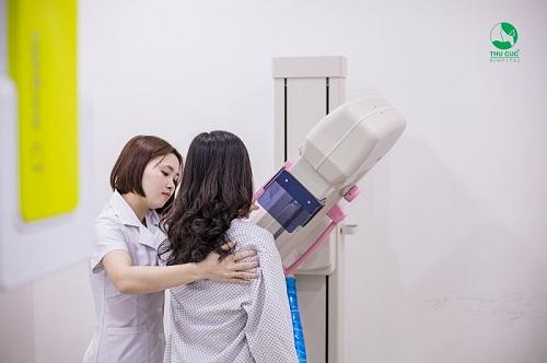 gói khám tầm soát ung thư vú của Thu Cúc